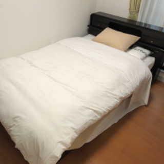 アローンズ大阪-寝具付きベッド